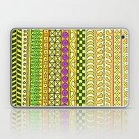 Yzor pattern 011 Yellow Things Laptop & iPad Skin