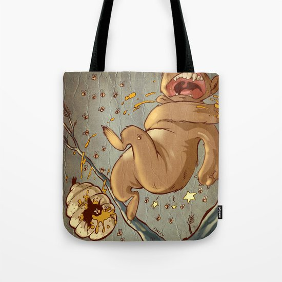 Carl Bear vs. the Bees Tote Bag