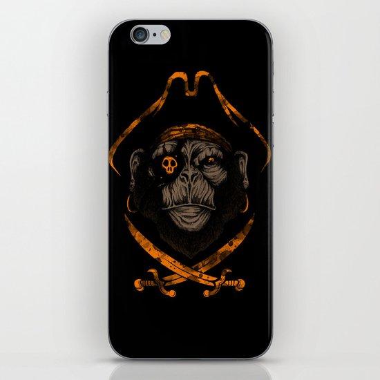 Captain sea monkey iPhone & iPod Skin