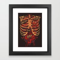 Anatomical Study - Day O… Framed Art Print