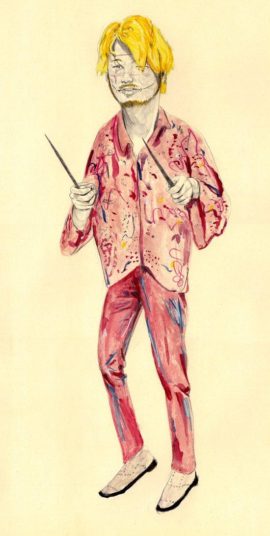 Kakihara | Ichi the Killer Art Print