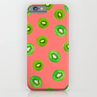 pink kiwi iPhone 6 Slim Case