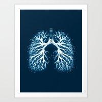 I Breathe Music Art Print
