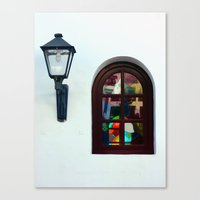 The Lantern and the Window Canvas Print