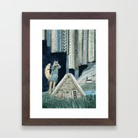 Photographing Northern L… Framed Art Print
