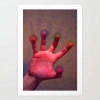 Your Hand, As The Creati… Art Print