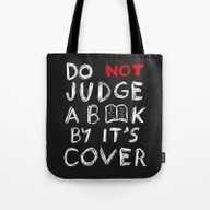 Do Not Judge A Book By I… Tote Bag