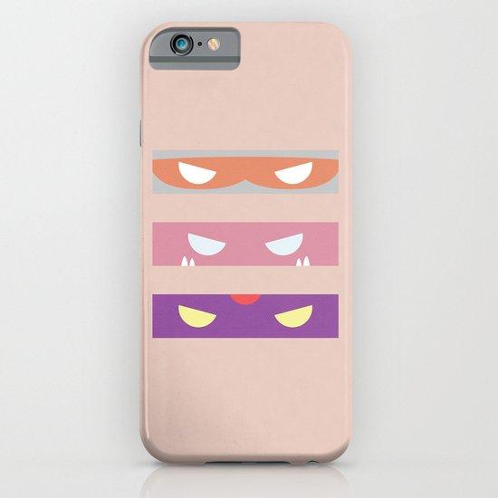 Teenage Minimal Ninja Baddies iPhone & iPod Case