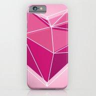 Geometric Heart Polygon … iPhone 6 Slim Case