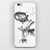 Louis Armstrong, Satchmo or Pops iPhone & iPod Skin