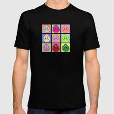 Lumpy Space Prince ala Warhol Mens Fitted Tee Black SMALL