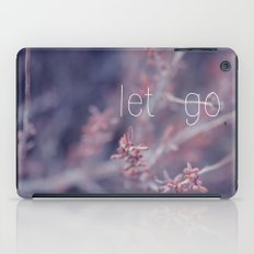 let go iPad Case