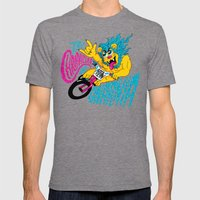 The Chronicles Of Gnarni… Mens Fitted Tee Tri-Grey SMALL