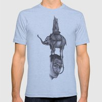 Dali's Dream Mens Fitted Tee Athletic Blue SMALL