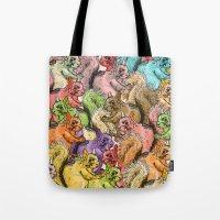 Squirrels Parade Tote Bag