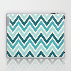 Indie Spice: Turquoise Chevron Laptop & iPad Skin