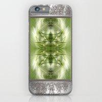 Hordeum Jubatum Abstract iPhone 6 Slim Case