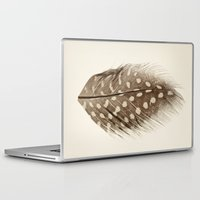 feather Laptop & iPad Skins featuring Feather by Mina Teslaru