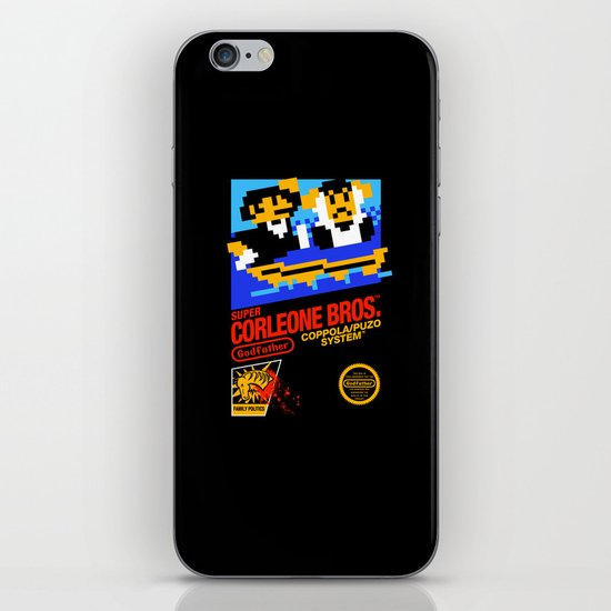 Super Corleone Bros iPhone & iPod Skin