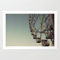 Ferris Wheel To Heaven Art Print