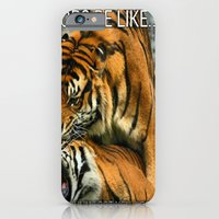 iPhone & iPod Case featuring Tongue In Cheek by Sir Harvey Fitz