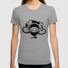 BEE-J T-SHIRT Womens Fitted Tee Tri-Grey SMALL