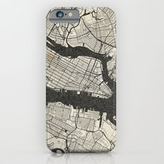 New York - Ink lines Slim Case iPhone 6s