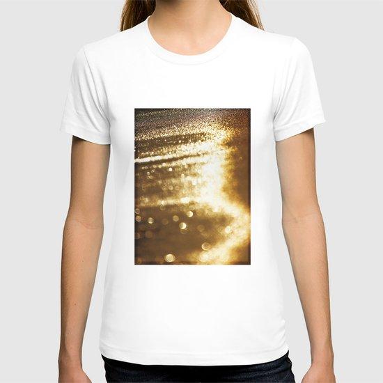 spun gold T-shirt