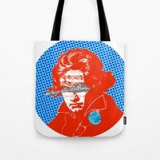 Ludwig van Beethoven 12 Tote Bag