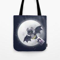 Bat Bat Tote Bag