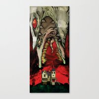 The Worm Of Saturn Canvas Print