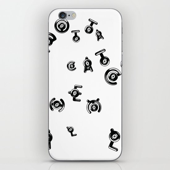 Unown - Pokemon iPhone & iPod Skin