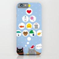 Santa Cat iPhone 6 Slim Case