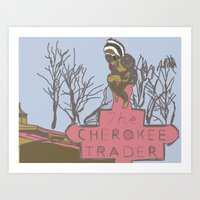 The Trader. Art Print