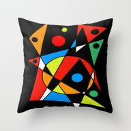 Abstract #120 Throw Pillow