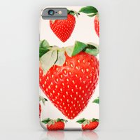 iPhone & iPod Case featuring strawberry explosion by eddiek3