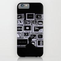 iPhone & iPod Case featuring TV Addict by Lawrence Villanueva