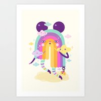 Nice To See You Again! Art Print