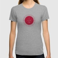 awesome Womens Fitted Tee Athletic Grey SMALL