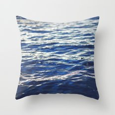 water surface 3 Throw Pillow