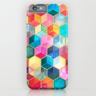 Crystal Bohemian Honeyco… iPhone 6 Slim Case