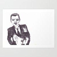 Heart Suit Art Print