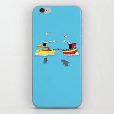 TUG BOAT OF WAR iPhone & iPod Skin
