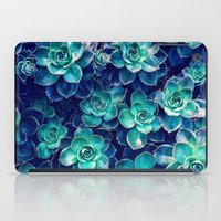 Plants of Blue And Green iPad Case