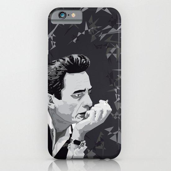 Johnny Cash iPhone & iPod Case