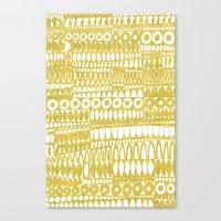 Golden Doodle Oooohh Canvas Print