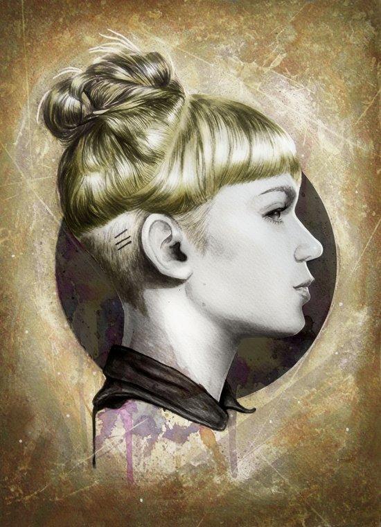 GrimesI Art Print