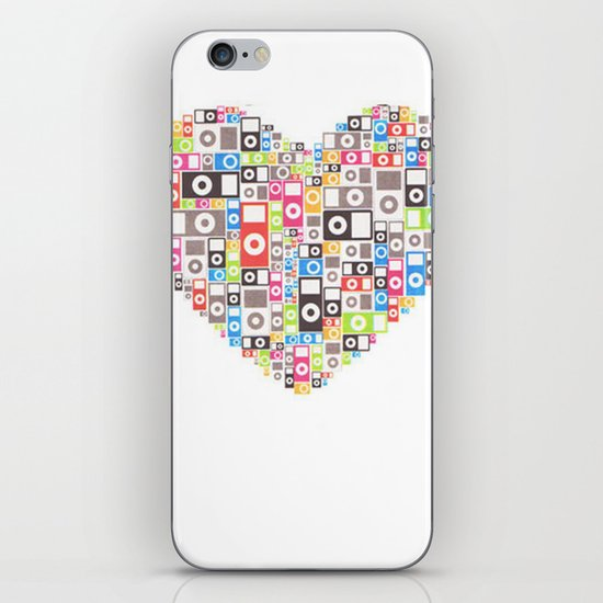 I love Ipod iPhone & iPod Skin