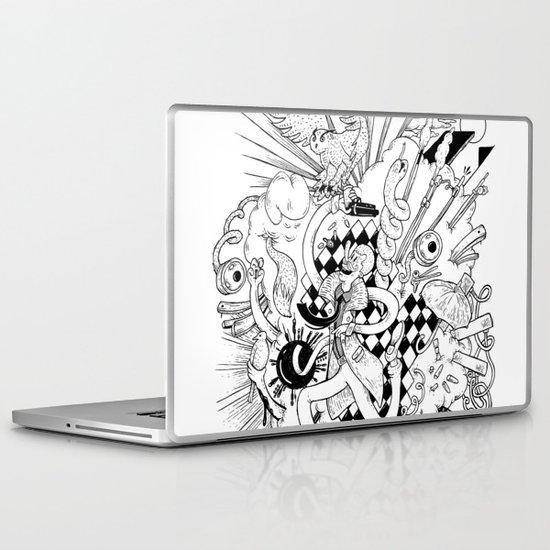 I've seen things (Black & White) Laptop & iPad Skin