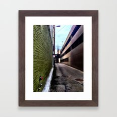 Hulk Alley Framed Art Print
